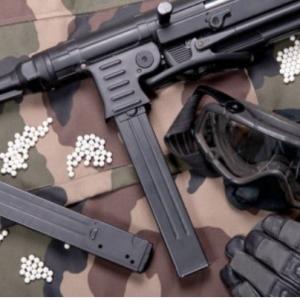 Airsoft ginklai ir šaudmenys